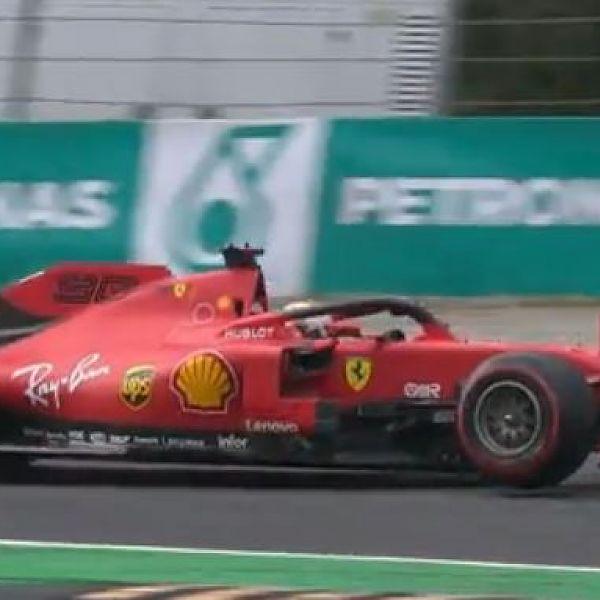 Vettel Monza '19 alla Roggia